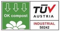 Certificazione Compac TUV AUSTRIA - OK COMPOST