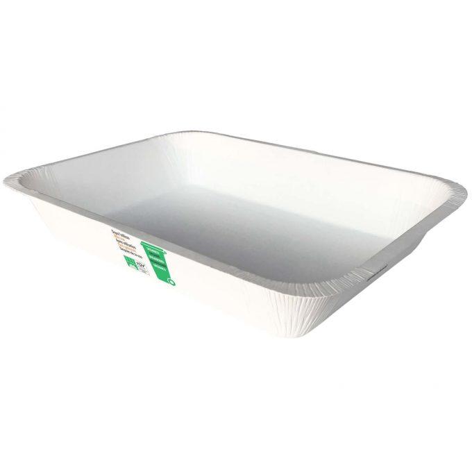 Contenitore bianco V45MCD07 Compac in CARTONCINO+PLA